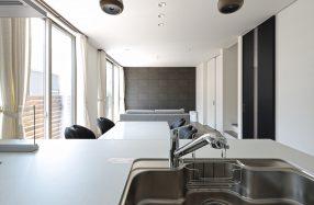 1階で生活を完結できる家事楽アイデアいっぱいの家